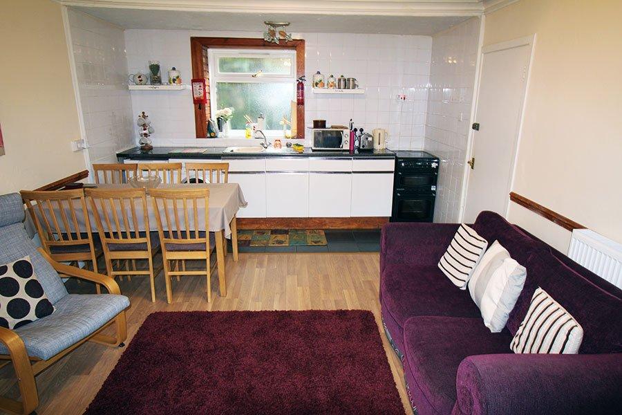 open plan living cairn view arrochar